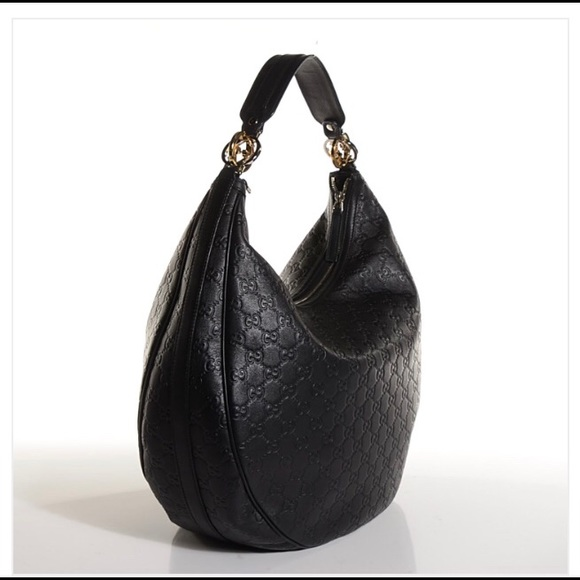 Gucci Handbags - Gucci Guccissima GG twins large leather hobo b4cd72c7d6
